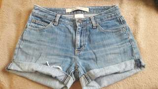 GAP DENIM SHORTS (100% ORIGINAL)