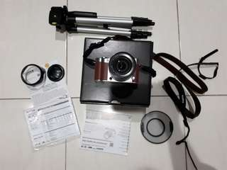 Kamera Mirrorless Fujifilm xa3 second 98%