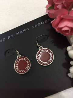 Marc By Marc Jacobs 紅圓牌Earrings
