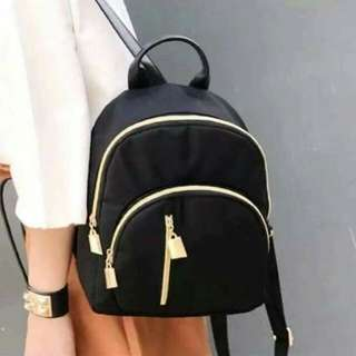 🍃Korean Small Black Backpack