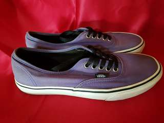 Original Vans Dark Purple/True White