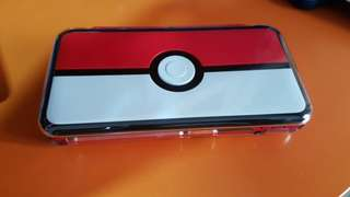 2DS XL (Modded) Pokeball Special Limited Edition
