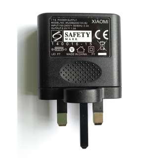 小米 原裝 英規 USB 手機充電器