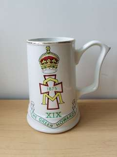 (絶版)英國The Green Howards綠衣兵團啤酒杯