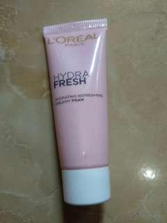 L'oreal Hydra Fresh Creamy Foam