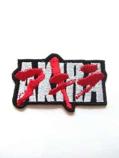 Akira Anime Logo Iron On Patch