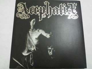 """Vinyl 7"""" Record: Acephalix–Acephalix - Hardcore, Death Metal"""