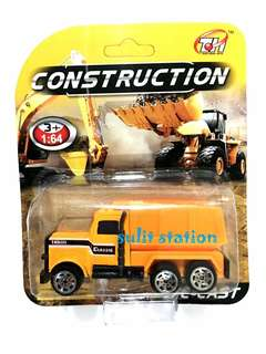 CONSTRUCTION BULLDOZER FORKLIFT HAULER TRUCK TOY CAR