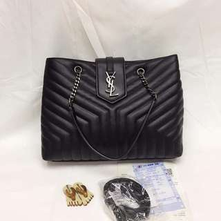 YSL Y-Quilted Two-Bag Chain Bag