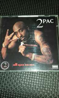 2pac Makaveli All eyez on me USA First pressing original USA Double CD rare Rap , Dr dre, Snoop dogg, Death Row