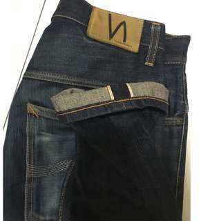 NUDIE JEANS SELVEDGE DENIM size 30/32