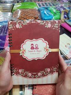 Customised note books
