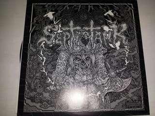 """Vinyl 7"""" Record: Septic Tank –The Slaughter - Hardcore, Thrash, Punk"""
