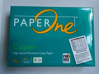 A4 紙 Paper One 500sheets