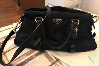 Prada Nylon Shoulder Sling Bag