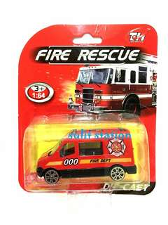 RESCUE FIRE MATCHBOX MINI AMBULANCE TRUCK CAR