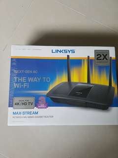 Linksys AC1900 brand new..