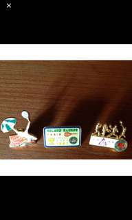 Collectible French Open pins