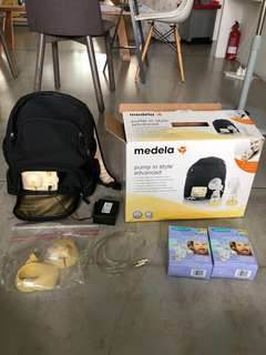 Medela Breast pump in style advanced (in box)