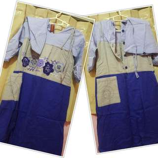 Baju lebaran gamis merk Dannis