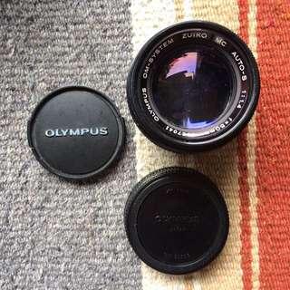 OLYMPUS ZUIKO 50mm LENS F1.4