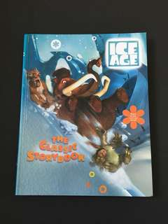 Children story book: Ice Age (hardcover)