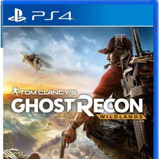 Brand New Condition Ghost Recon Wildlands PS4