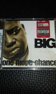 Notorious B.I.G One more Chance Original USA pressing CD single new Rap
