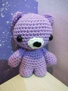 Lil Bear Crochet Doll ( Raya Discount Item ~ Original priced RM 50 )