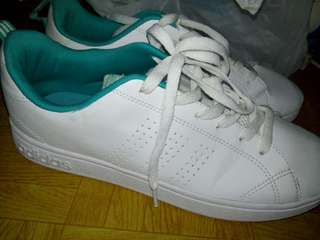 Original Adidas Neo Advantage Cleans White Tosca
