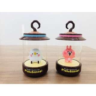 台灣7-11 x 卡娜赫拉的小動物 Kanahei USB充電造型夜燈 2款 $238
