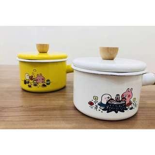 台灣7-11 x 卡娜赫拉的小動物 Kanahei 下午茶時光琺瑯鍋 2款 $348