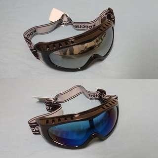 Chrome/Rainbow Tinted Goggles
