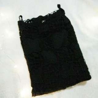 Black Halter Blouse