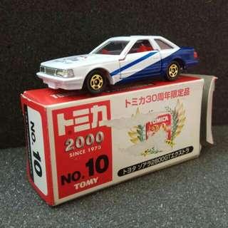 Tomy Tomica 車仔 No.5 Toyota Soarer 2800GT 30週年特别版 1/65