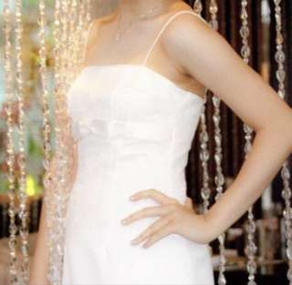 White Gown by Designer