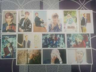 BTS Lomo Cards (Mixed)