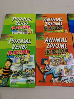 Learners - Idioms In Actions books