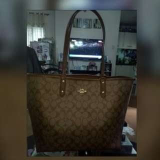 Authentic Coach Reversible Tote Bag