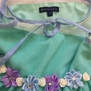PERIWINKLE Formal dress (12 months)