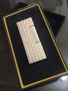 Dunhill lighter Pave Palladium Plated RLV1304