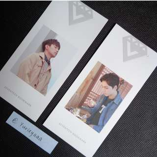 OFFICIAL Love & Letter Bookmark Dokyeom Vernon