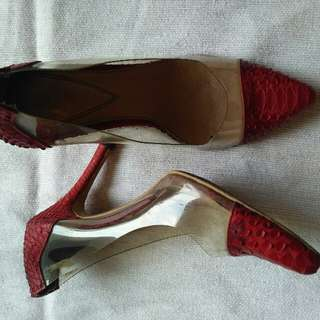 HEELS MANOLO RED