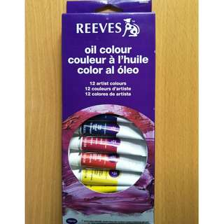 REEVES Oil Colour (12 colours)