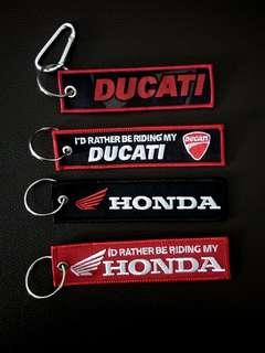 Key Chain | honda | Yamaha | Ducati