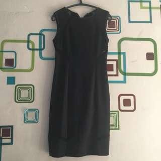 CLEARANCE - Dress Zalora Hitam
