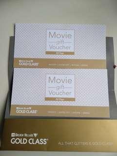 GV Gold Class Movie Voucher