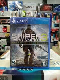 🆕 PS4 Sniper Ghost Warrior 3 Season Pass Edition