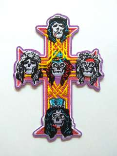 Guns N Roses Appetite for Destruction Rock Band Iron On Patch