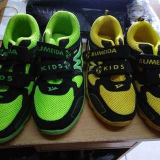 Sepatu anak merek bumeida kids